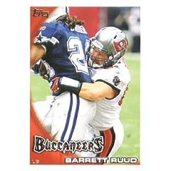 2010 Topps NFL Football Card # 299 Barrett Ruud - Tampa Bay Buccaneers - NFL Trading...