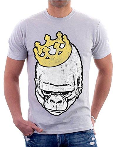 T-shirt RE GORILLA tutte le taglie uomo donna maglietta by tshirteria