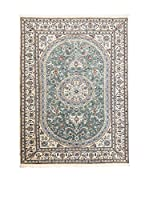 Navaei & Co. Alfombra Persian Nain Extra 9 Lah Verde/Multicolor 240 x 157 cm
