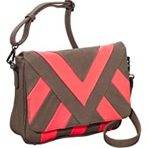 Melie Bianco Nita Crossbody Bag (Coral)