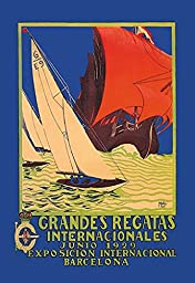 Grandes Regatas Internacionales 12x18 Giclee On Canvas