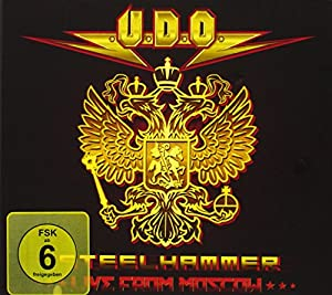 U.D.O. - Steelhammer: Live from Moscow (+ 2 Audio-CDs) [3 DVDs]