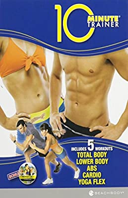 10 Minute Trainer 5 Workouts (Total Body, Lower Body, Abs, Cardio and Yoga Flex)