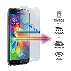 QAWACHH Tempered Glass For Samsung Galaxy s5