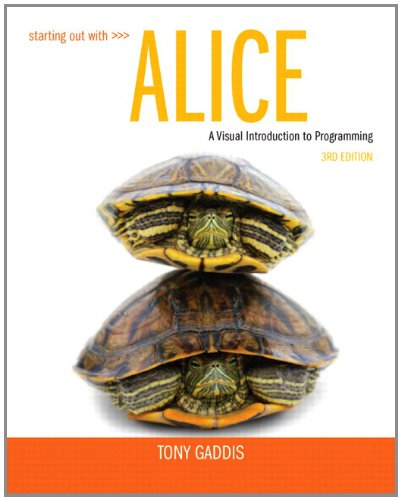 Starting Out with Alice (3rd Edition) (Starting Llc compare prices)