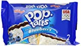 Kelloggs Pop Tarts Frosted Blueberry Twin Pack 104 g (Pack of 6)