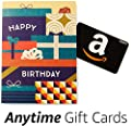 Amazon Happy Birthday Greeting Card with Anytime Gift Card (Pack of 3)