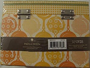 Paula Deen Kitchen Recipe Card Box