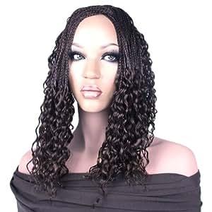 Crochet Braids Amazon : Amazon.com : Rastafri Hand Tied Water Wave Microbraid Hair Extensions ...