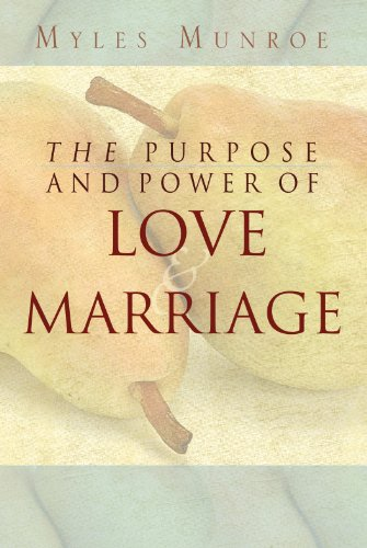 51rBehXSVTL Free Kindle Book: Myles Munroe The Purpose and Power of Love and Marriage