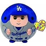 Ty Beanie Ballz MLB Los Angeles Dodgers Plush