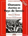 Chansons chant�es en Pays de Savoie :...