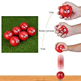 BESTOYARD Stress Ball Squeeze Balls Fidget Toy for Party Favors Hand Exercises and Strengthening - 6 Pack