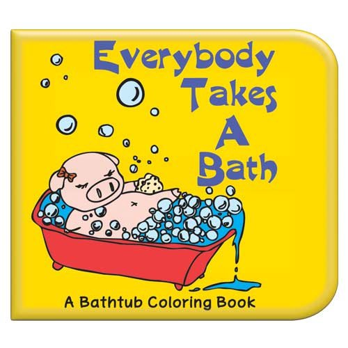 Take a Bath Washable Coloring Book - 1