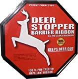 Messina Wildlife DB-R-100 Deer Stopper 100-Foot Barrier Ribbon, Organic