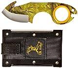 Elk Ridge Infinity Field Skinner Knife - Fire Starter-Camo Coated