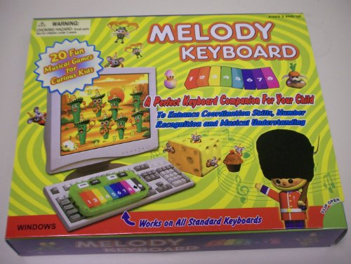 Silver Corn Melody Keyboard