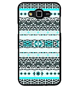 ColourCraft Tribal Pattern Design Back Case Cover for SAMSUNG GALAXY GRAND MAX G720