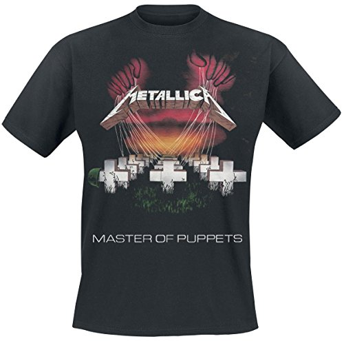 Metallica Master Of Puppets Tour 1986 T-Shirt nero XL