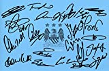 LIMITED EDITION MAN CITY 2015-16 SQUAD SIGNED PHOTO + CERT FOOTBALL PRINTED AUTOGRAPH SIGNATURE SIGNED SIGNIERT AUTOGRAM