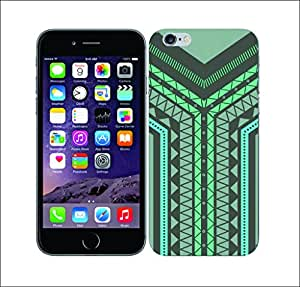 Galaxy Printed 2092 Geometric Tribals Zings and Zags Hard Cover for Apple Iphone 6