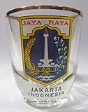 Indonesia Jakarta Shot Glass