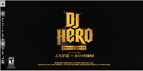 51rBp1X97GL Buy  PS3 DJ Hero Renegade Edition Featuring Jay Z and Eminem