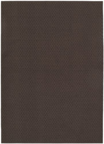 Garland Rug Town Square Area Rug, 5-Feet By 7-Feet, Chocolate front-1000139