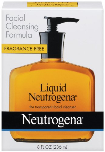 Neutrogena Fragrance Free Liquid, Facial Cleansing Formula, 8 Ounce front-9180