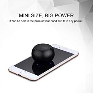 Mini Bluetooth Speaker Pair, Small Bluetooth Speaker Portable Wirelss 3D Surround TWS Mic Stereo Outdoor Speaker Superb HD Sound for iphone ipad Home
