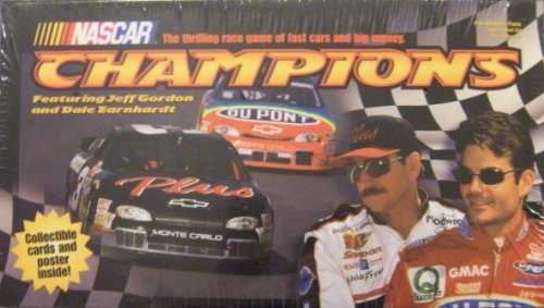 Nascar Champions: Collectible Cards and Poster Inside! - 1
