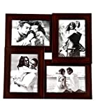 Photo Frame Big 4 in 1 Brown 5x7 Inch Photo