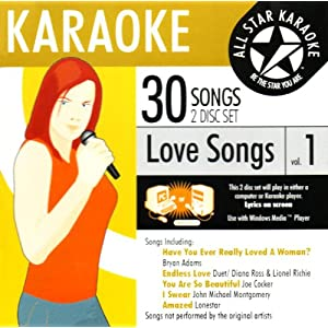 karaoke love songs free trial music