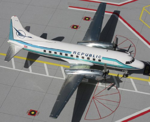 1: 200 ジェミニジェット Republic Convair CV-580 (並行輸入)