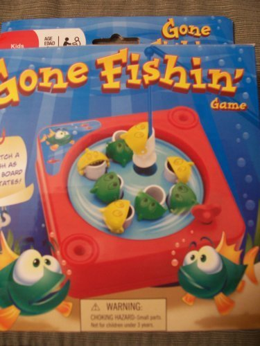 Mini Gone Fishin' Game - 1