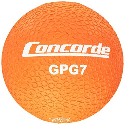 Concorde Grippy Playground Ball, Size 7, Orange - 1