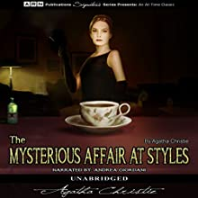 The Mysterious Affair at Styles Audiobook by Agatha Christie Narrated by Andrea Giordani