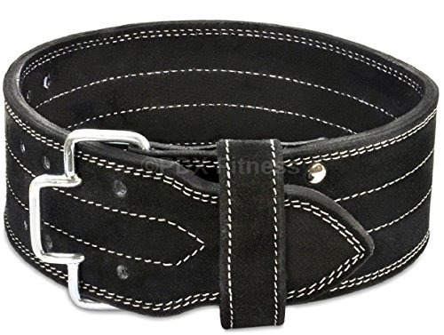 PDX Fitness PowerLifting Belt - Leather WeightLifting Belt - 4