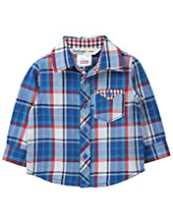 Blue Yarn Dyed Check Shirt Blue Check