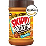 Skippy Creamy Natural Peanut Butter Spread With Honey 15 oz