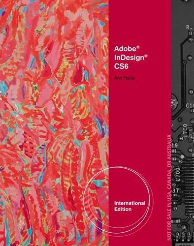 Ise Adobe Indesign Cs6 Illustrated
