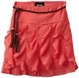 Amy Byer Girls 7-16 Gauze Ruffle Skirt