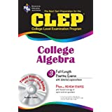 "CLEP College Algebra with CD (REA) - The Best Test Prep for the CLEP Exam (Test Preps) (Paperback) newly tagged ""math"""