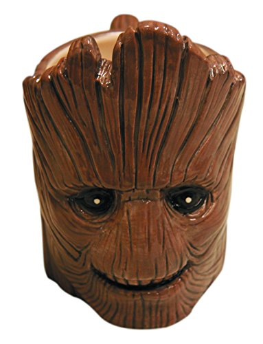 Classic Imports Guardians of The Galaxy: Smiling Groot Molded Mug (Cool Mugs compare prices)