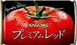 【Amazon.co.jp限定】 カゴメ プレミアムレッド 高リコピントマト50%使用(食塩無添加) 160g×30本 ランキングお取り寄せ