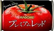 【Amazon.co.jp限定】 カゴメ プレミアムレッド 高リコピントマト使用(食塩無添加) 160g×30本