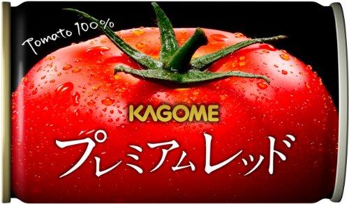 【Amazon.co.jp限定】 カゴメ プレミアムレッド 高リコピントマト50%使用(食塩無添加) 160g×30本 -