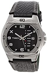 Timex Fashion Analog Black Dial Mens Watch - EL03