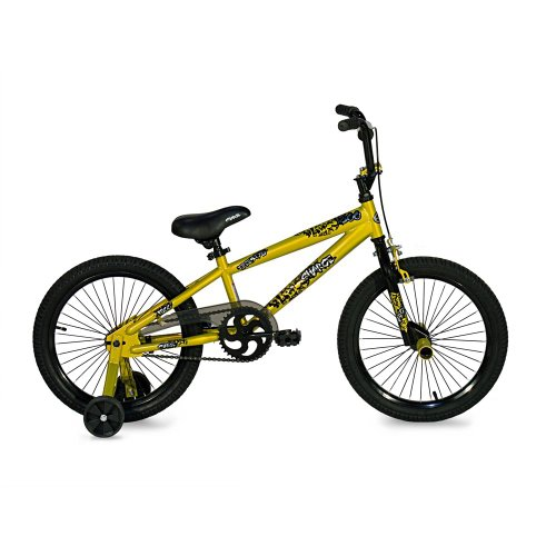 Kent Boys Charge Freestyle Bicycle, Gold/Black, 18-Inch
