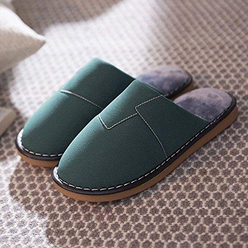 ZHLONG Sandales casual de femmes coton thermique sandales